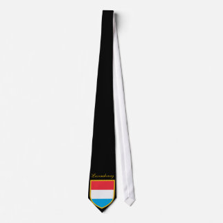 Beautiful Luxembourg  Flag Tie