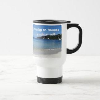 Beautiful Magen's Bay, St. Thomas Travel Mug