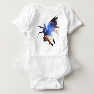 Beautiful Magical Space Fairy Baby Bodysuit