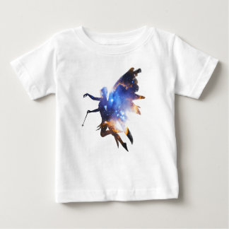 Beautiful Magical Space Fairy Baby T-Shirt