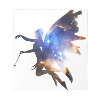 Beautiful Magical Space Fairy Notepad