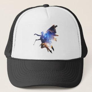 Beautiful Magical Space Fairy Trucker Hat