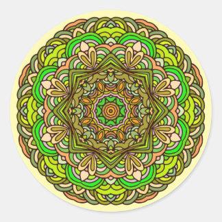 Beautiful mandala pattern sticker