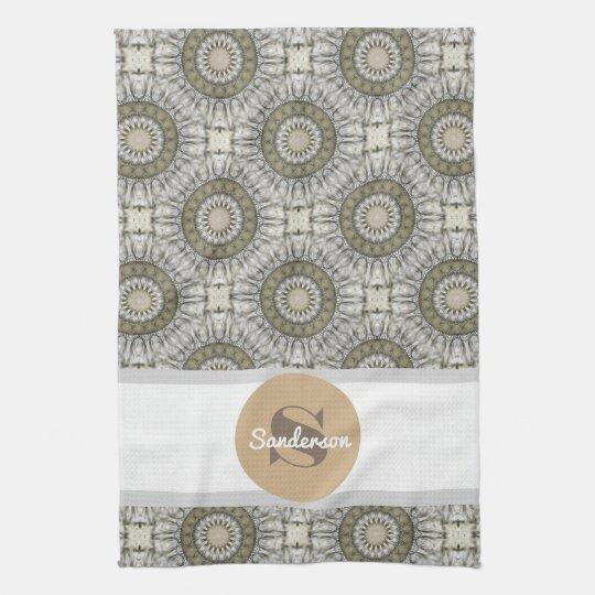 Beautiful Mandala w/Monogram Towels