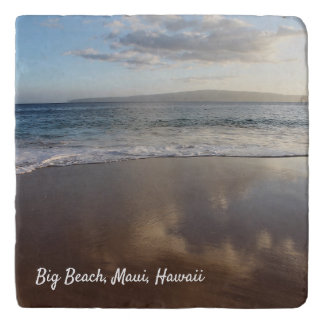 Beautiful Maui Beach Stone Trivet