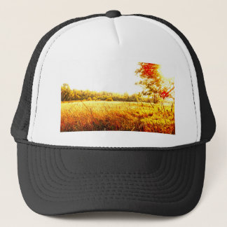 Beautiful Meadow Sunrise Trucker Hat