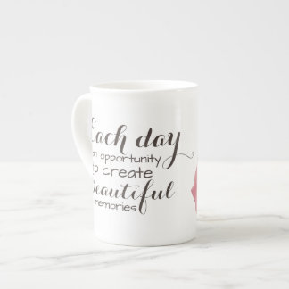 Beautiful memories Bone China Mug