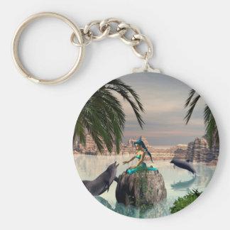 Beautiful mermaid keychain