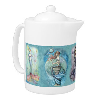 Beautiful Mermaid Teapot