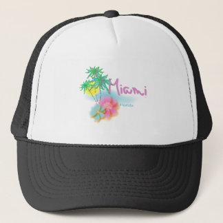 Beautiful Miami Florida Trucker Hat