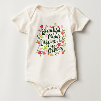 Beautiful Minds Inspire Others Quote | Bodysuit