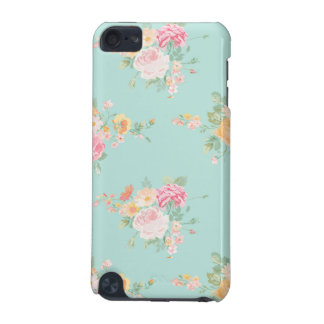 beautiful, mint,shabby chic, country chic, floral, iPod touch (5th generation) cases