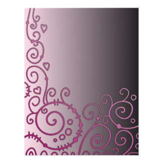 Beautiful modern design customized letterhead