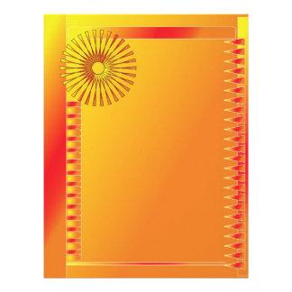 Beautiful modern design letterhead