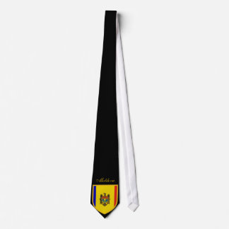 Beautiful Moldova Flag Tie