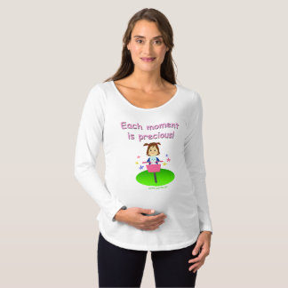 Beautiful moments (with text) maternity T-Shirt