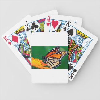 Beautiful Monarch Butterfly Bicycle Playing Cards