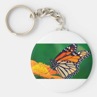 Beautiful Monarch Butterfly Keychain