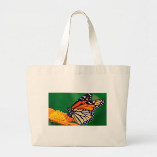 Beautiful Monarch Butterfly Large Tote Bag