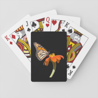 Beautiful Monarch Butterfly Playing Cards