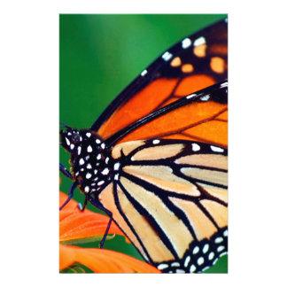 Beautiful Monarch Butterfly Stationery