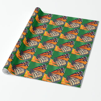 Beautiful Monarch Butterfly Wrapping Paper
