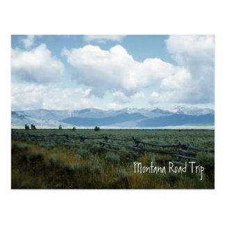 Beautiful Montana Landscape Postcard