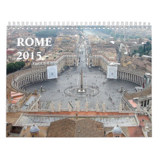 Beautiful Monuments Architecture Rome Italy 2015 Wall Calendars