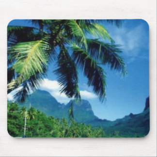 Beautiful Moorea Island in  Tahiti Mouse Pad