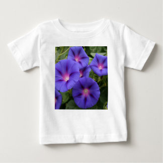 Beautiful Morning Glories in Bloom Baby T-Shirt
