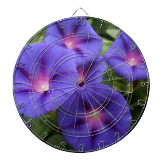 Beautiful Morning Glories in Bloom Dartboard