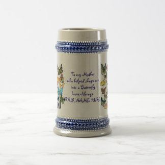 Beautiful Mother's Day Personalized Butterfly Mug