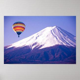 Beautiful Mount Fuji Japan Travel Poster