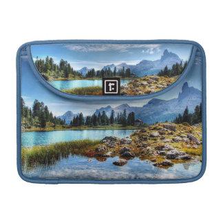 Beautiful Mountain Meadows Lake Macbook Pro Sleeve