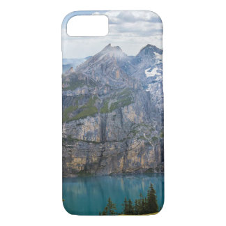 Beautiful Mountain Scene with Crystal Blue Lake iPhone 8/7 Case