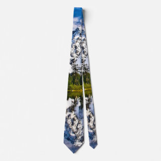 Beautiful Mountains - Lake - Forest Tie