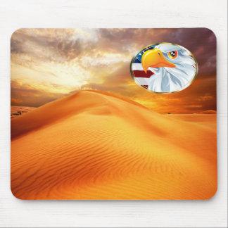 Beautiful Mousepad with nature motive and Eagle
