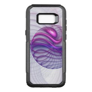 Beautiful Movements Abstract Fractal Art Pink OtterBox Commuter Samsung Galaxy S8+ Case