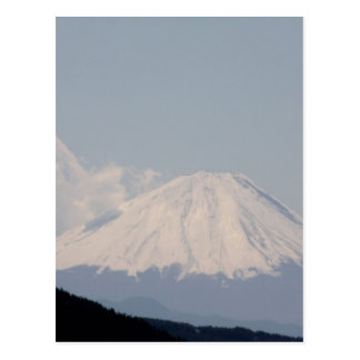 Beautiful Mt. Fuji in Modern Day Japan Postcard