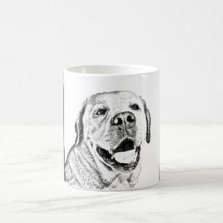 Beautiful Mug - B&W labrador retriever