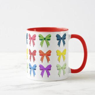 Beautiful Multi Colored Bows Coffee Mug