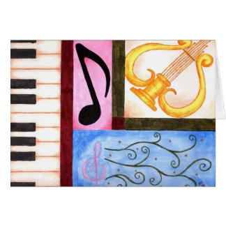 Beautiful Music Card
