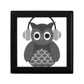 Beautiful Music Listning Owl Gift Boxes