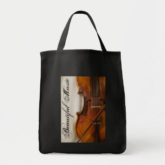 Beautiful Music--Violin Tote Bag