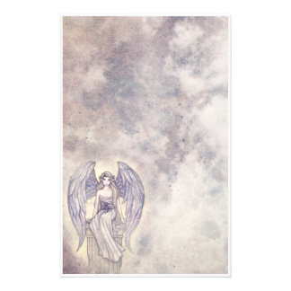 Beautiful Mystic Angel Stationary Stationery