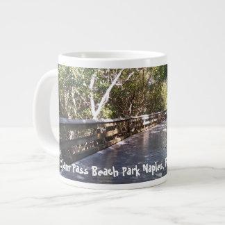 Beautiful Naples, FL Nature Walk Print Large Coffee Mug