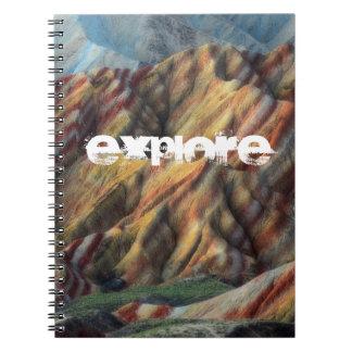 beautiful nature artistic elegant mountain book