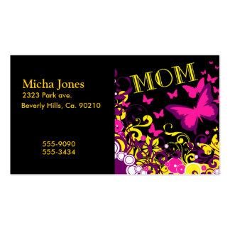 Beautiful Nature Beautiful Mom Business Card
