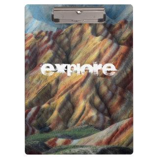 beautiful nature landscape mountain artsy clipboard