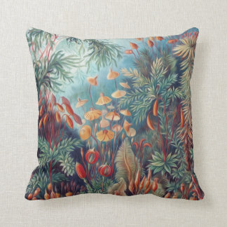 Beautiful Nature - Mosses Throw Pillow